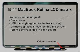 MACBOOK PRO 15 RETINA MODEL A1398 (EARLY 2013) Apple